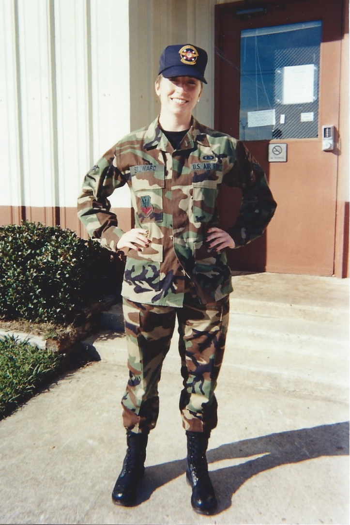 Dinah at Work, USAF