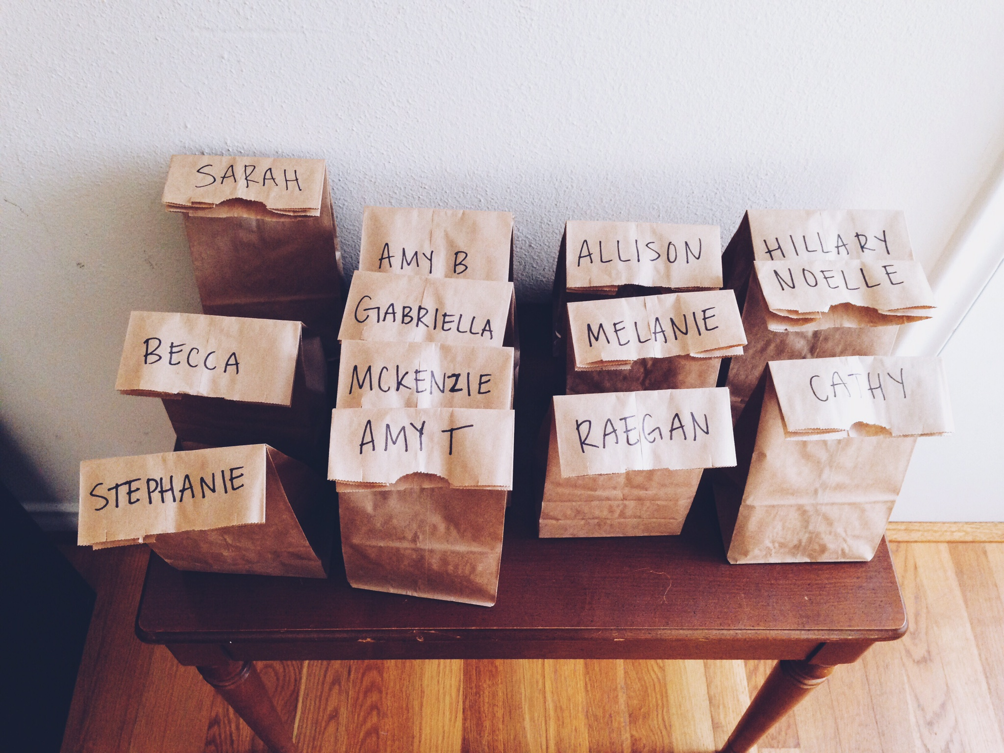 personalized gift bags.