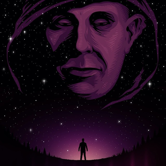 Just finished this movie poster for Adrian Bishop's sci-fi short film, Phase Me Up. phasemeup.com #denverfilmmakers