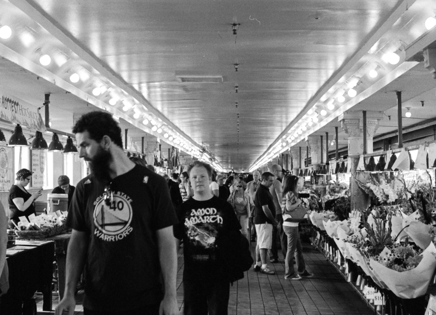 Pike Place Market, Seattle, WA. August 2013.
