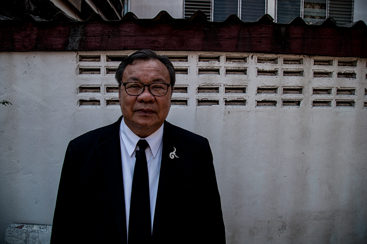 Pastor Pornchai Kamonsin, a Thai pastor from Bangkok's Glory to God Church who helps the Montagnard community in Bangkok.