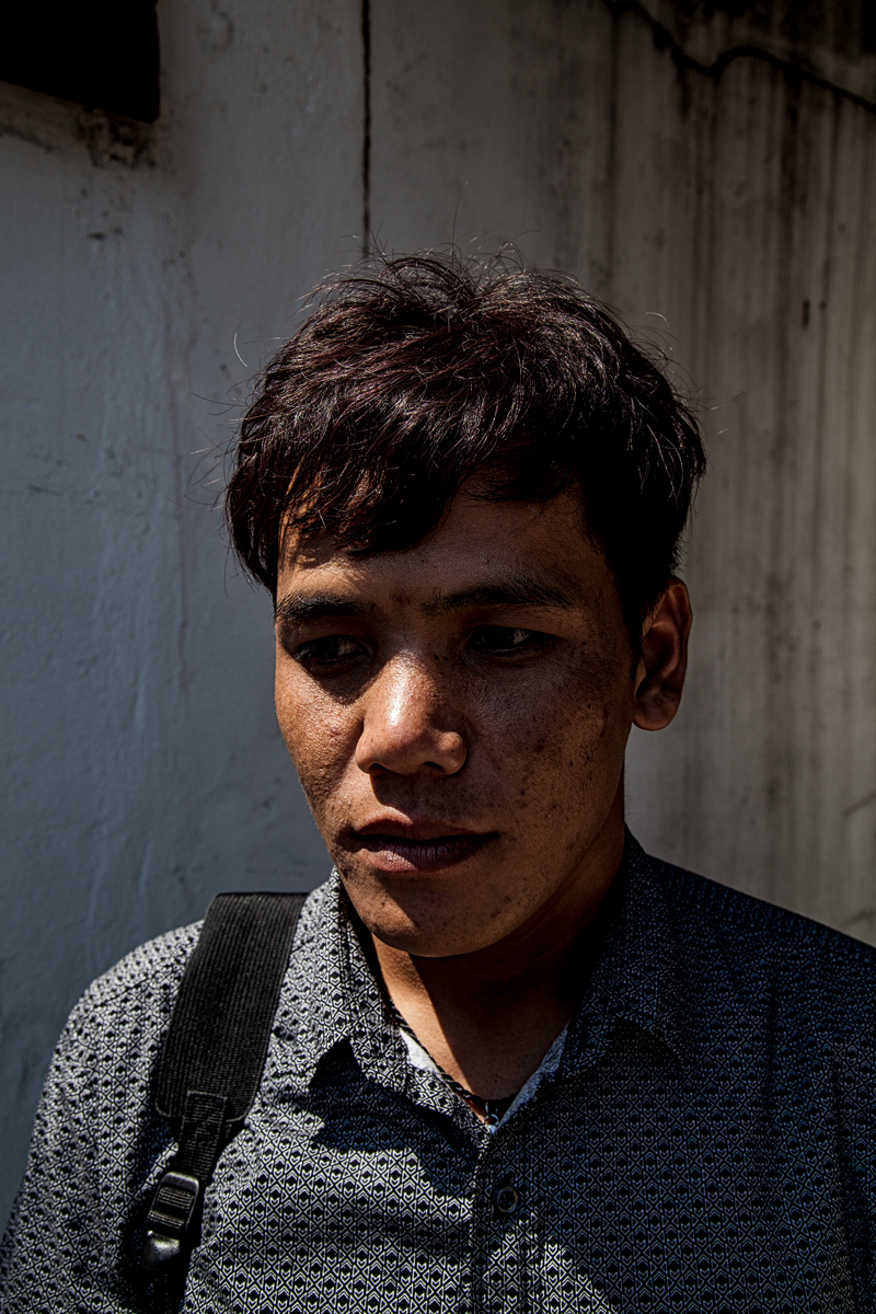 David Cil, 27, Bangkok, Thailand, Feb. 5, 2017. David lost his appeal with the UNHCR as they claim there was not enough proof to backup his story. He now lives in Bangkok as refugee with no papers. His two older uncles escaped Vietnam because of religious persecution and were able to be resettled in Quebec, Canada.