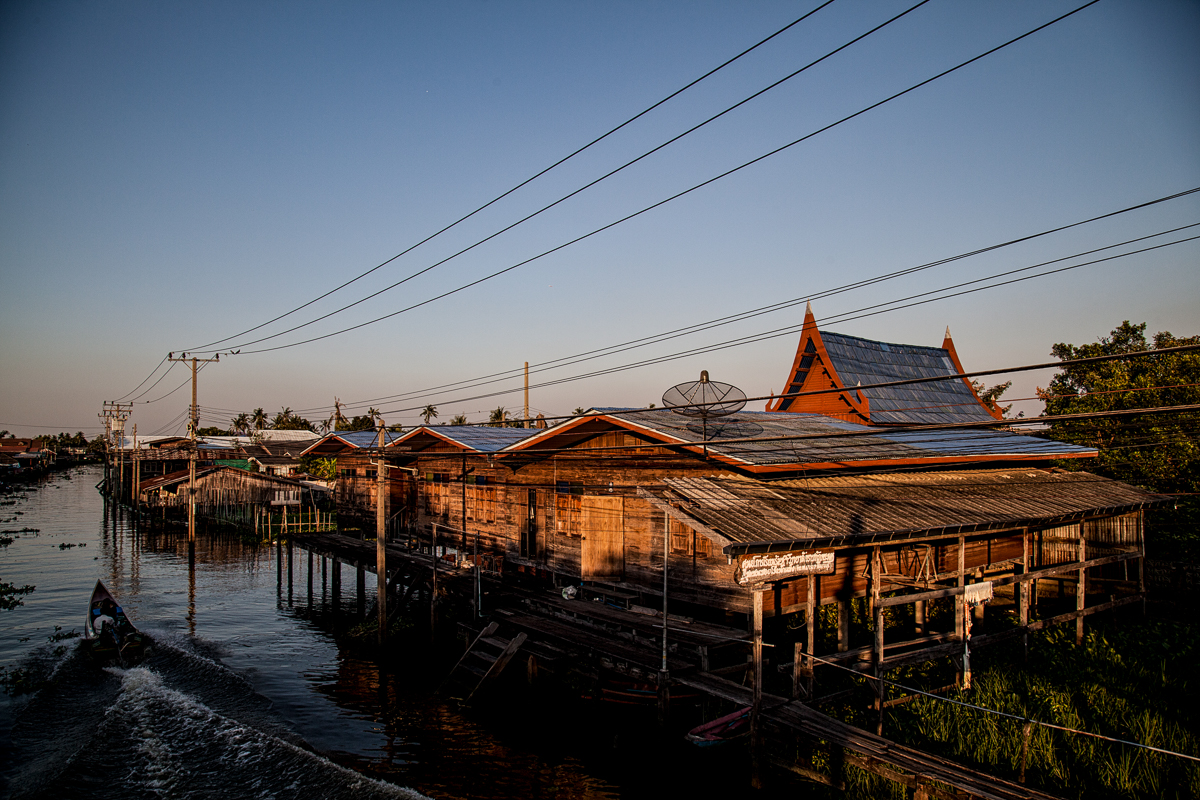 Bangkok, Thailand, Feb.4, 2017. A view nearby the compound where the Montagnards live. The exact location is undisclosed for fear of retribution by the Vietnamese authorities and arrest by the Thai police.
