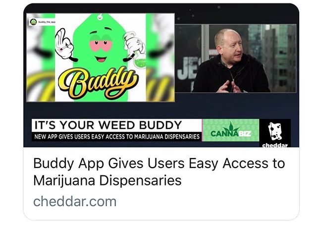 The legal marijuana market is predicted to be worth $146.4 Billion by 2025 👊🏼 Clients like Buddy, are pioneering ways to effectively digitize the industry.  #marijuana #cannabis