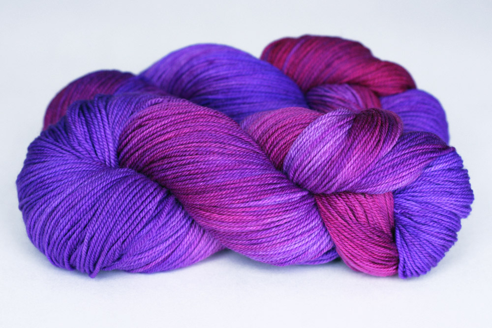 Purple Label Cashmere Sock in  Jewel .