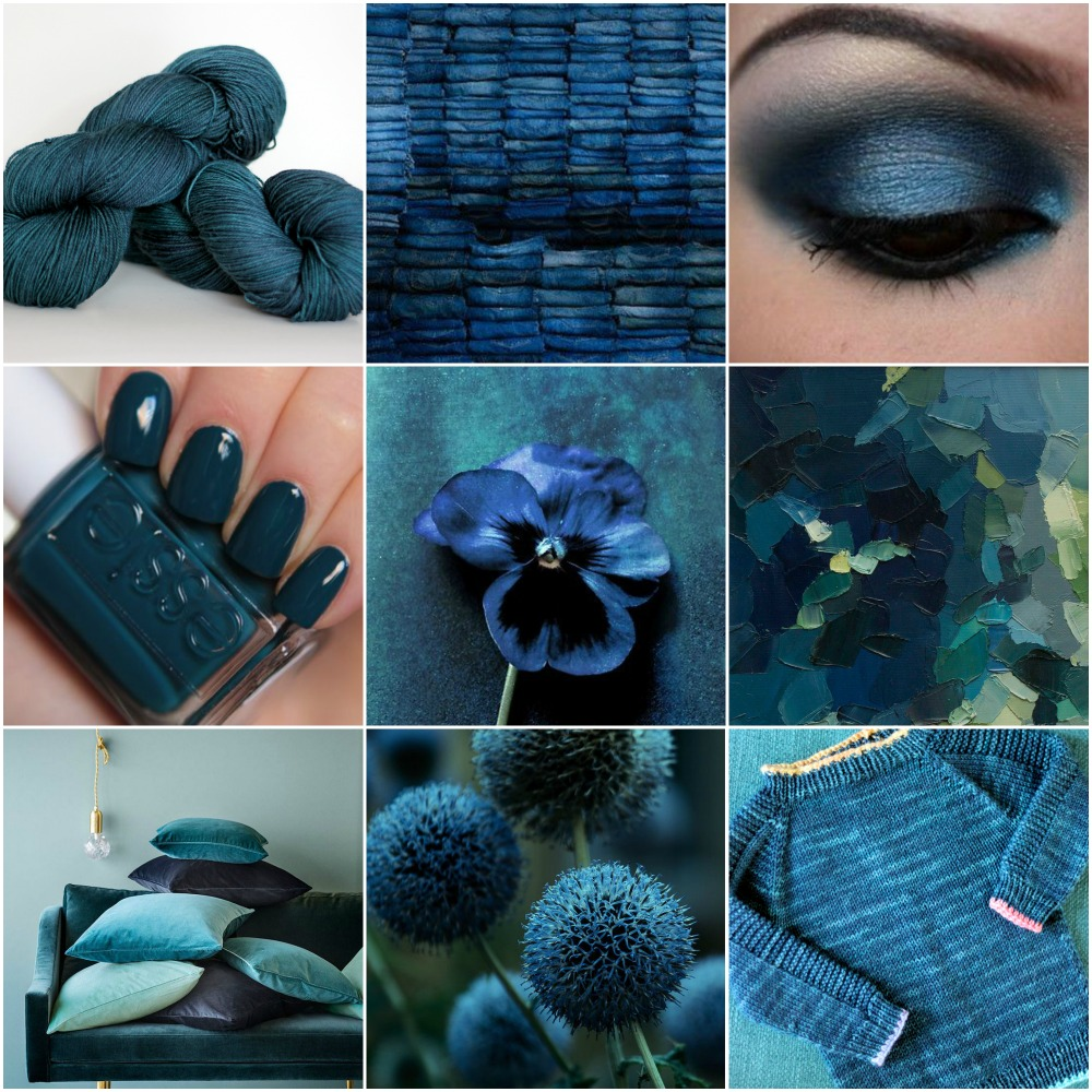 Sources: TFA Blue Label in  Ravine ,    jeans  ,  eyeshadow  ,    nail polish  ,  pansy  ,  abstract painting  ,  couch with cushions  ,  puff ball flower  , Ravine Flax .