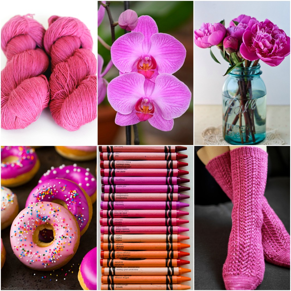 Sources: TFA Red label in  Orchid ,   orchid  ,   peonies  ,   donuts  ,   crayons  ,   Cavalcade Socks  .