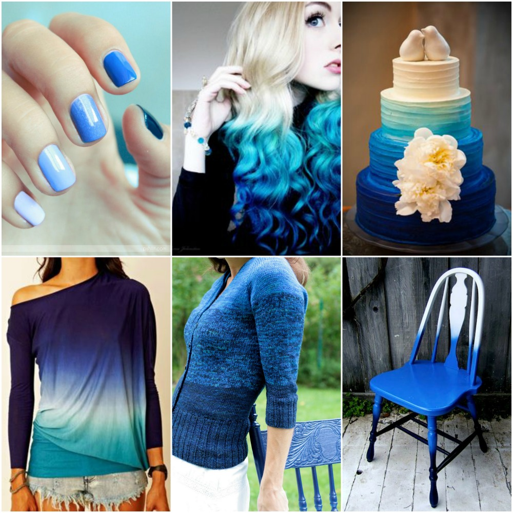 Sources: nails , hair , cake , shirt , my Cobalt Ombre cardigan , chair .