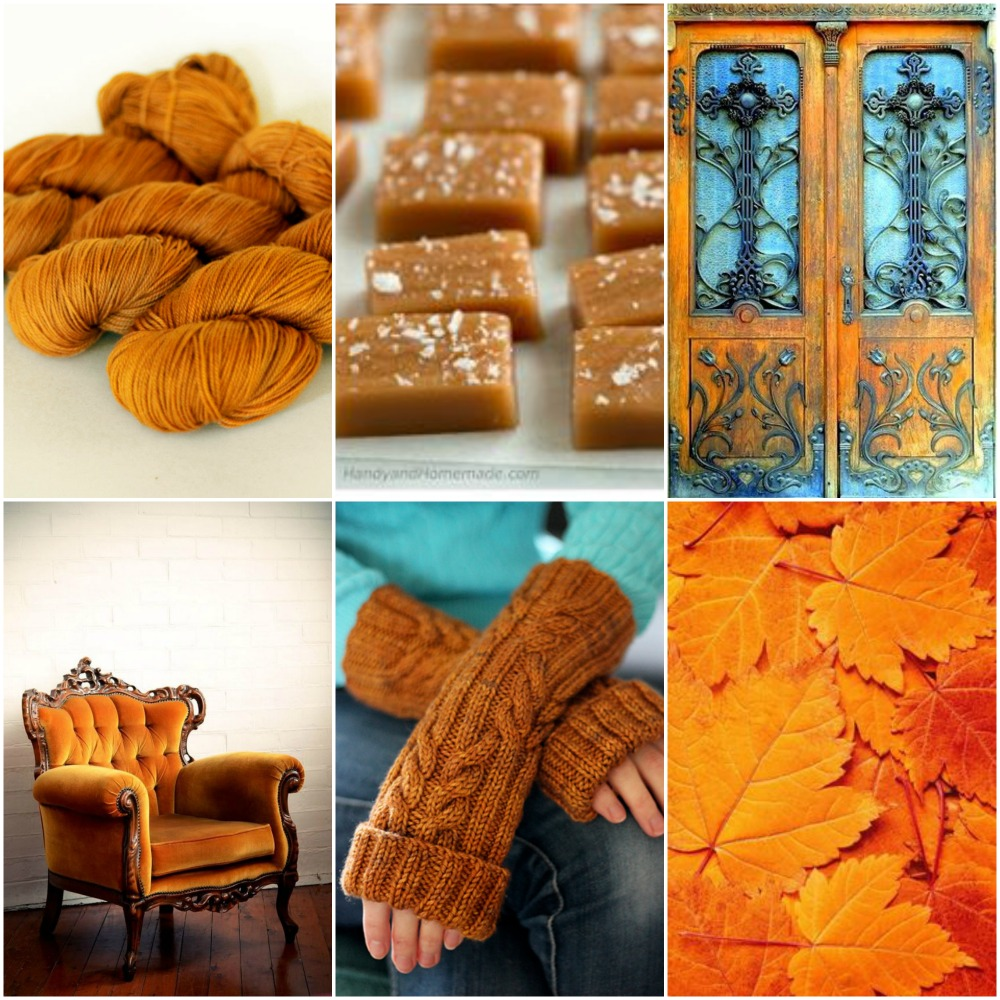 TFA Yellow Label in  Caramel ,  salted caramels ,  doors ,  chair ,  Ah Caramel Mitts ,  leaves .