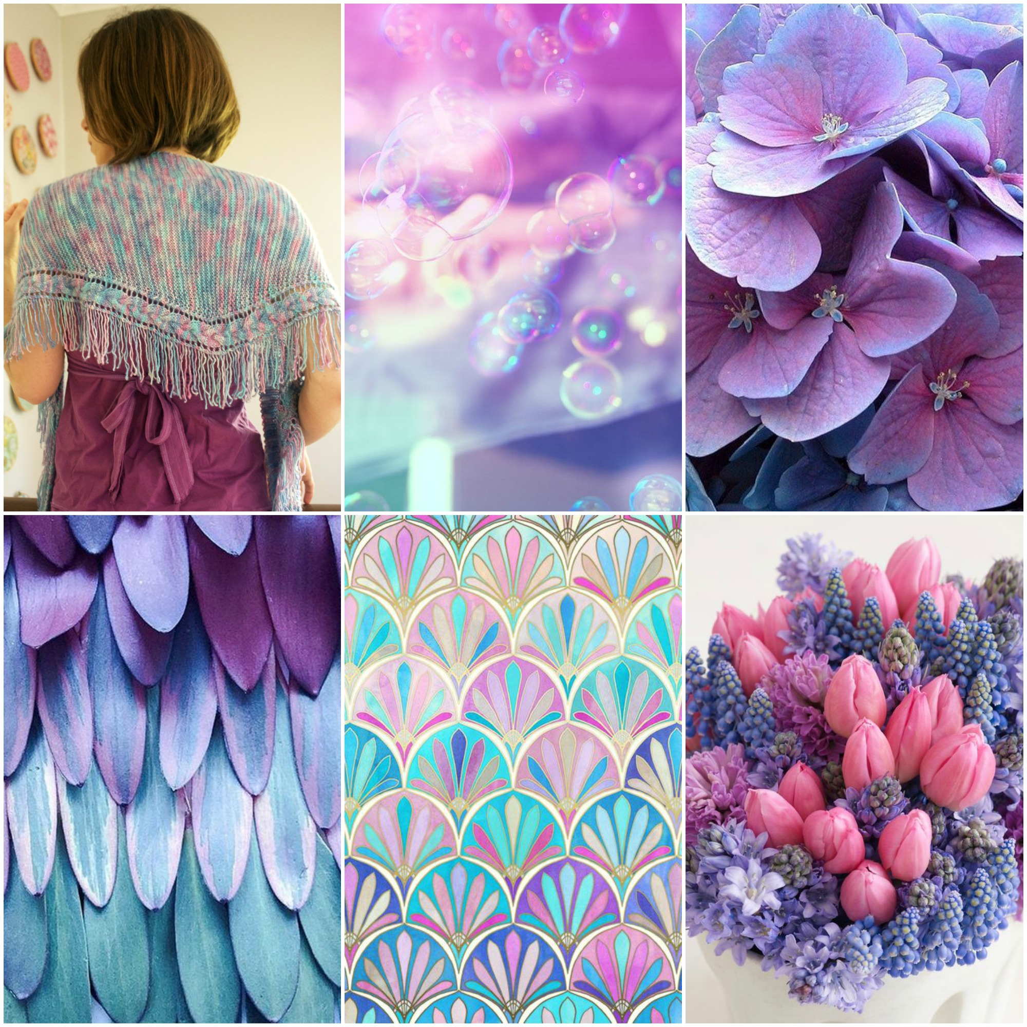 Truss Shawl ,  bubbles ,  hydrangea ,  feathers , art deco print ,  bouquet .