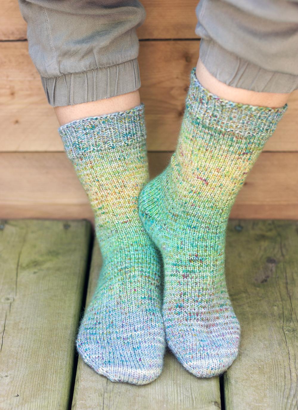 Sock Blank Socks by Tanis Fiber Arts
