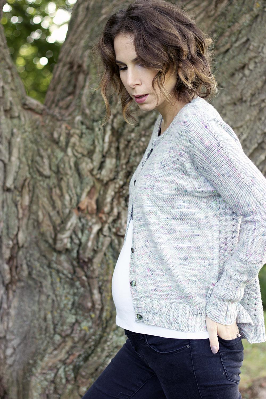 Rhine by Suvi Simla knit by Tanis Fiber Arts & my baby belly!