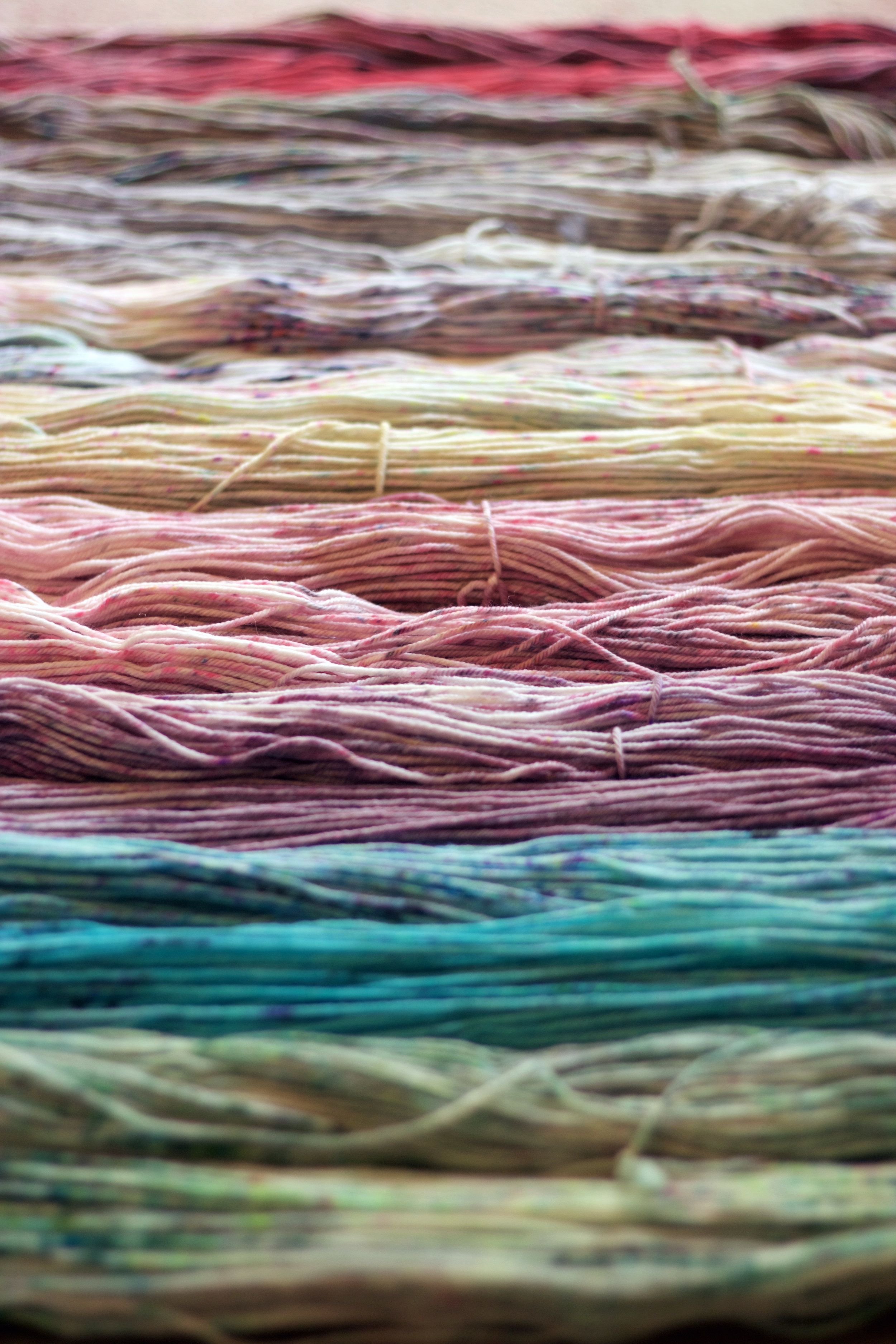 Tanis Fiber Arts Speckled Rainbow!