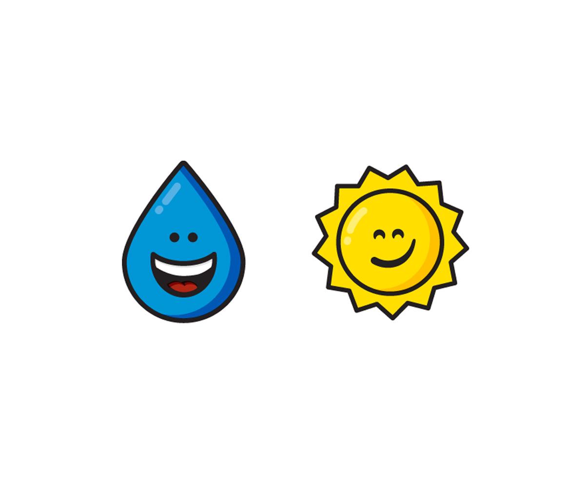 Happy Rain, Smirkin' Sun