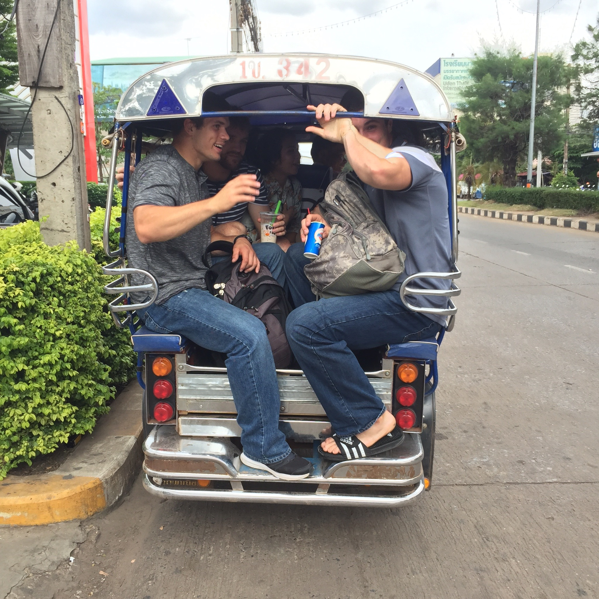 Trying to use Thai transportation