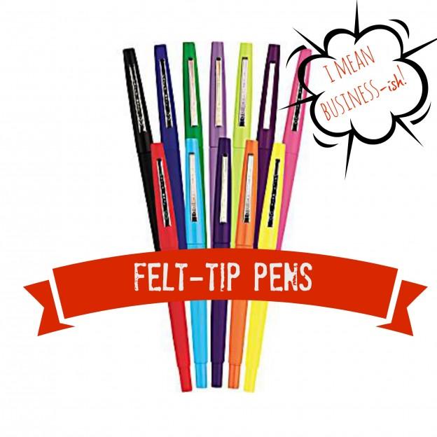 Felt-Tip Pens