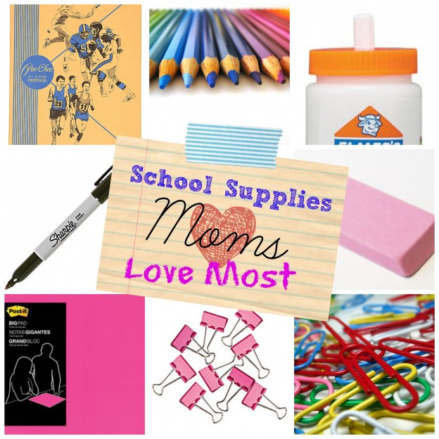 School Supplies Moms Love Most