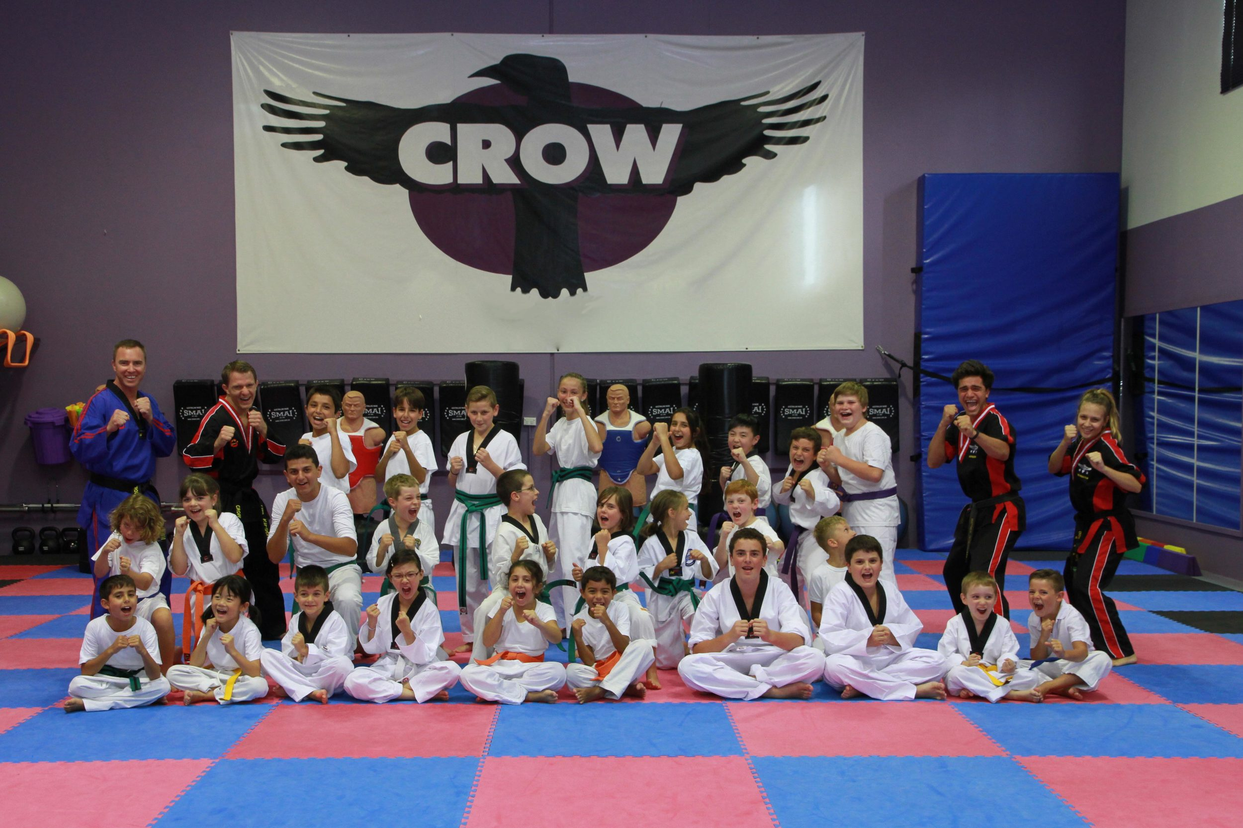 Crow Martial Arts for kids and teens