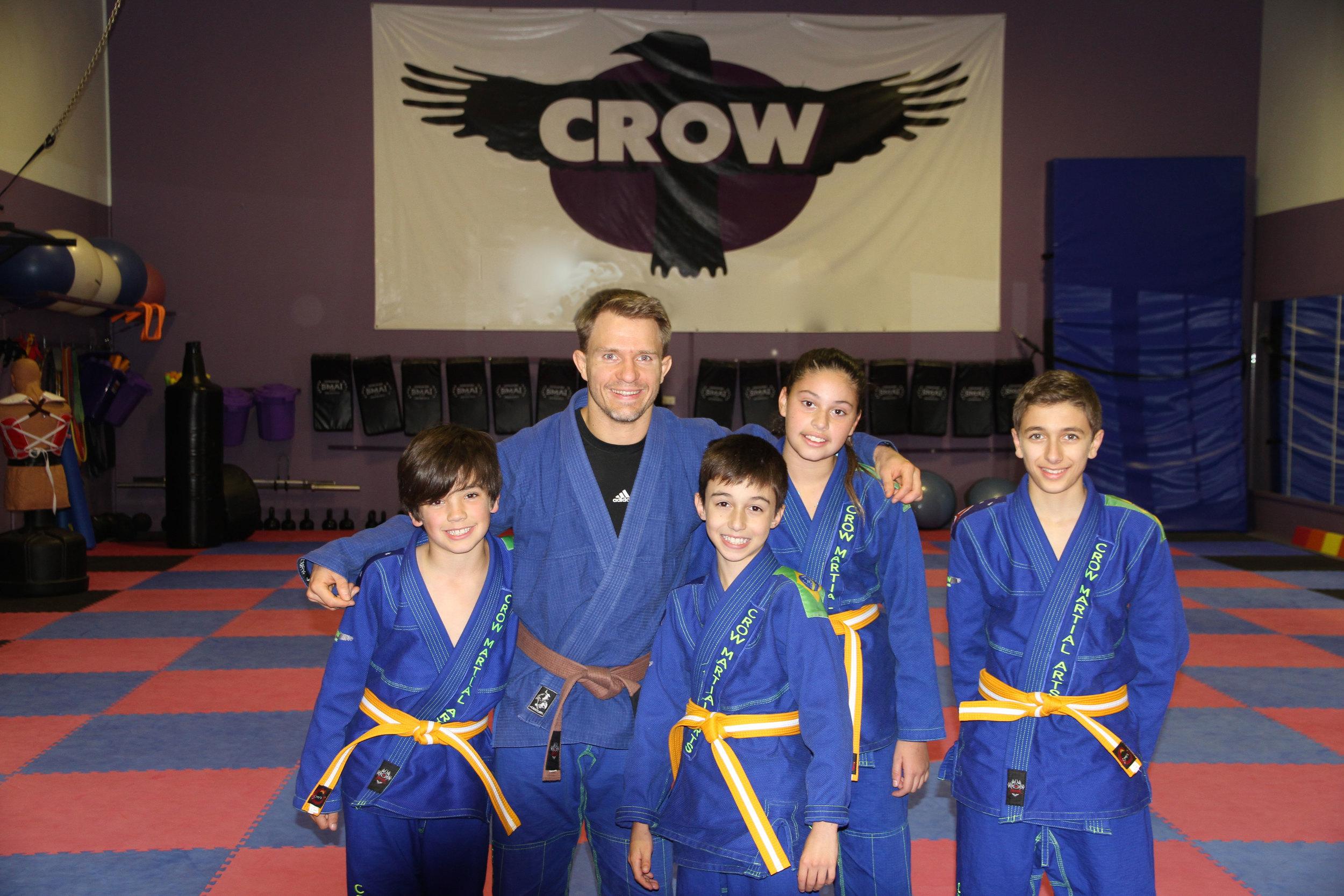 Brazilian Jiu-Jitsu - new belts for kids