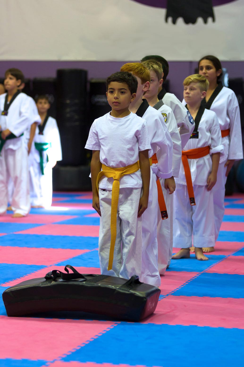 Attention, Focus and discipline are key elements in every Junior class