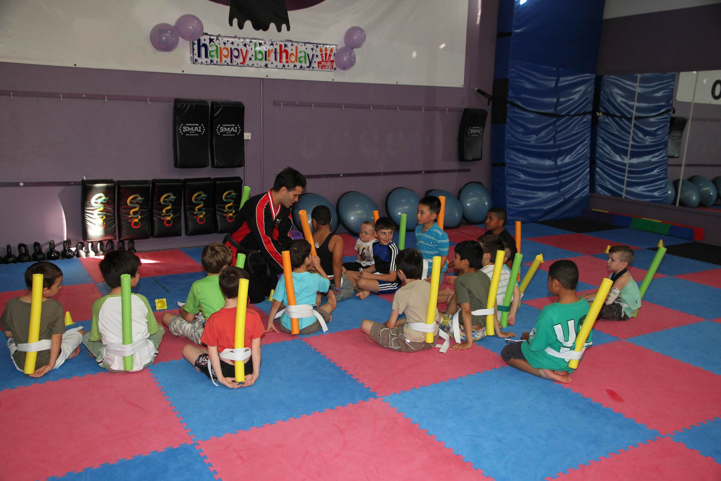 Games and fun activities are part of every party