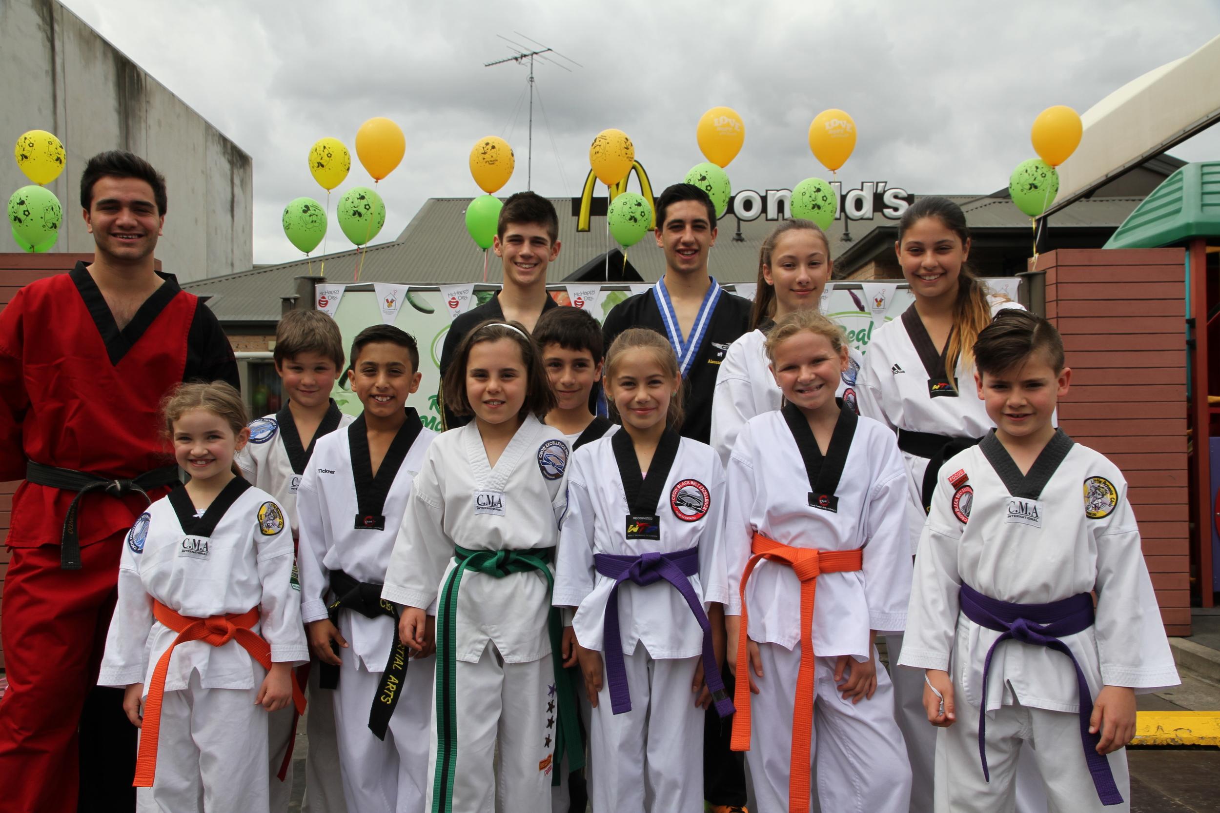 Crow Martial Arts kids