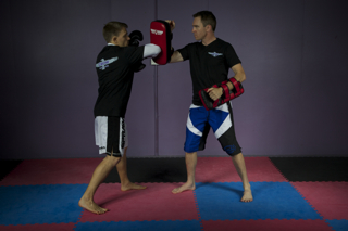 Kickboxing class for beginners