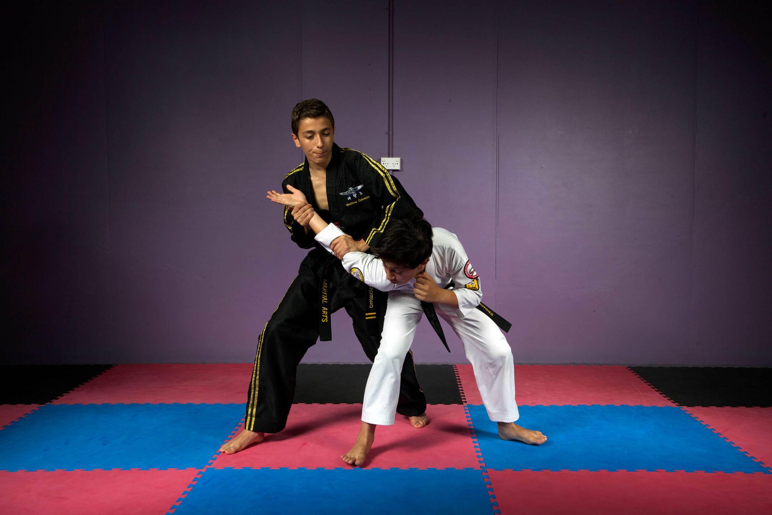 Self-defence for kids
