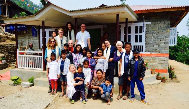Nepal donations Crow Martial Arts