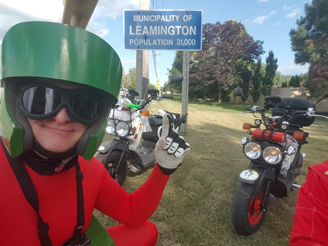 Diary of a Rally Master - by Sabina and Carol Anne from Kymco Canada. Great pics and a list of all the winners, too!