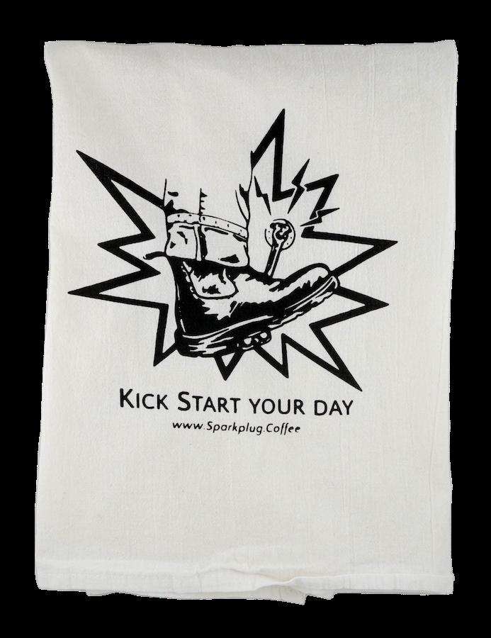 Flour Sack Kitchen Towel: Kick Start Your Day!