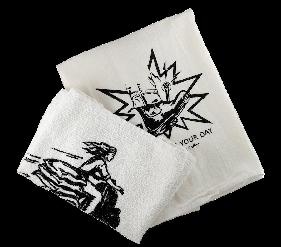 Sparkplug Towels
