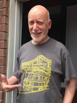 nice Queen Street bridge t-shirt, Larry!