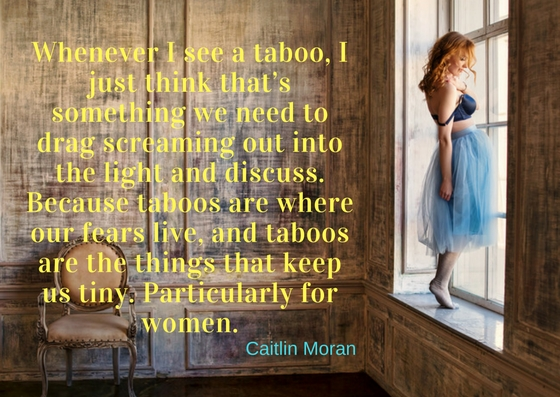 Caitlin Moran has written some fabulous, fierce, funny,feminist books including 'How to be a Woman' and 'How to Build a Girl'.