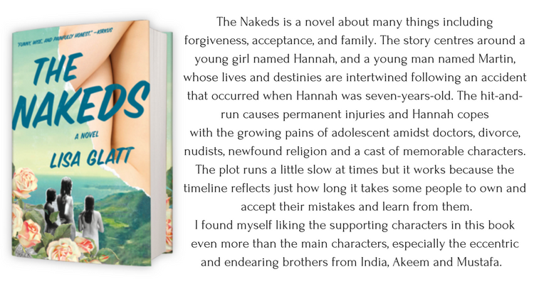 The Nakeds is a novel about many things includingforgiveness, acceptance, and family. The story centres around a young girl named Hannah, and a young adult named Martin, whose lives and destinies are intertwined foll-2.png