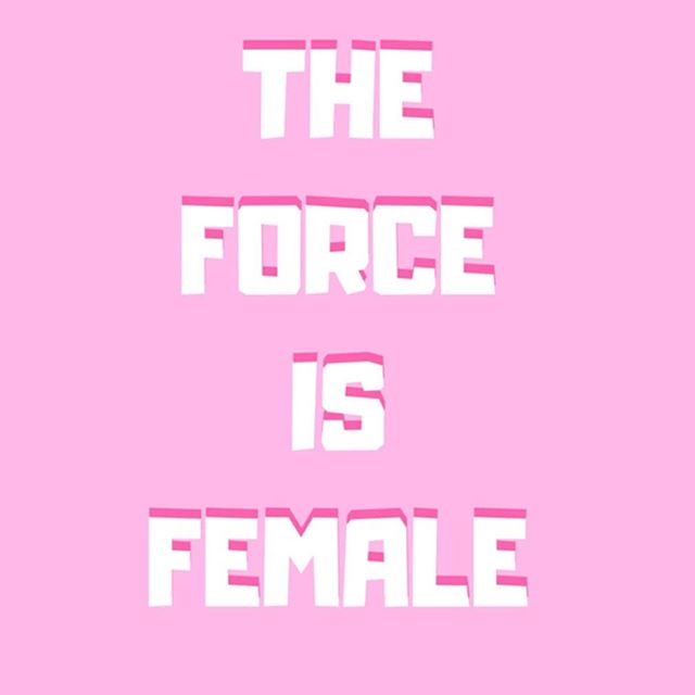 #maythe4thbewithyou #maytheforcebewithyou  #theforceisfemale