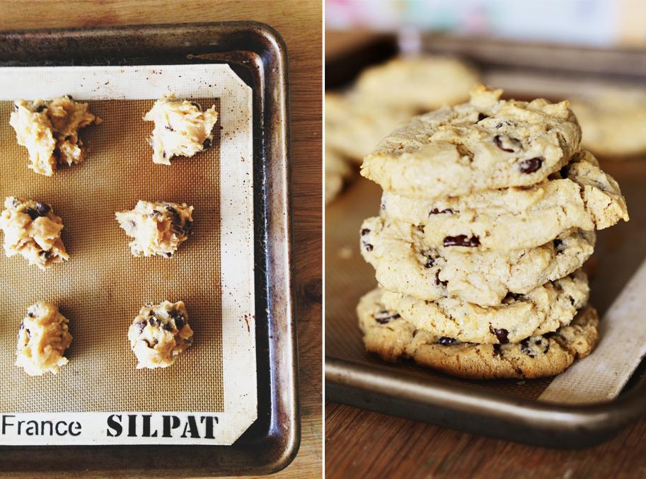 Recipe_FlourlessPBChocChipCookies / www.goodonpaperdesign.com/blog