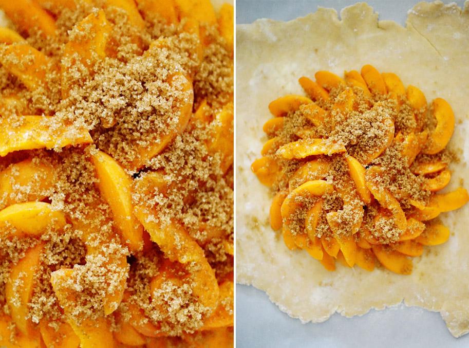 Recipe: Apricot Galette / www.goodonpaperdesign.com/blog