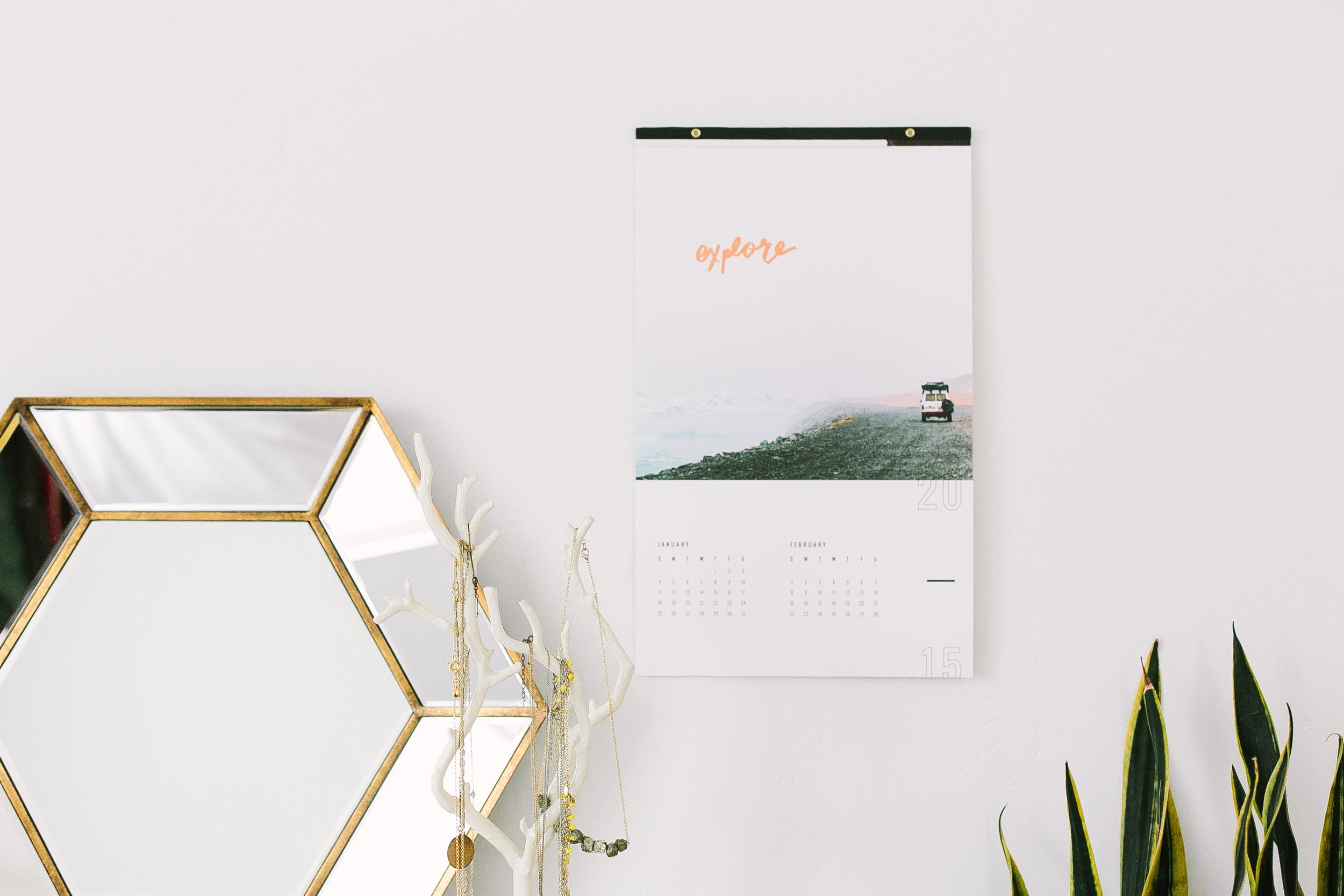 2015 Calendar - Jennifer Young Studio x Good on Paper / www.goodonpaperdesign.com/blog / @good_on_paper