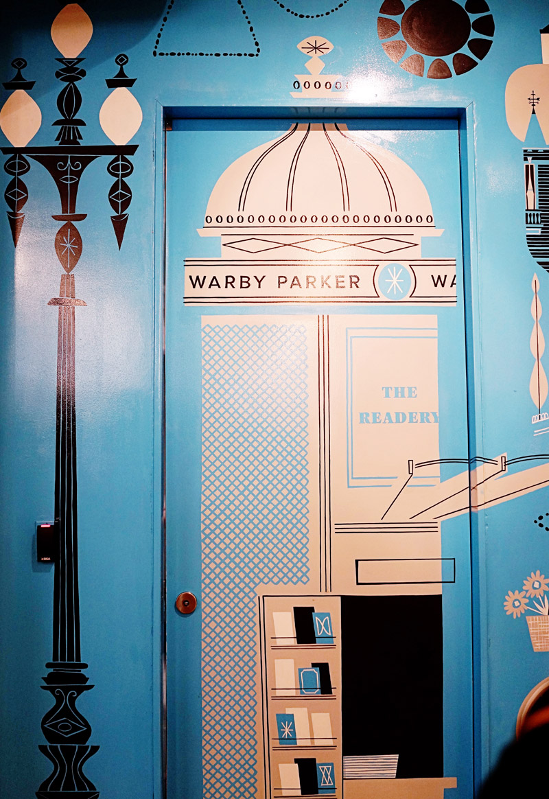 Warby Parker Opening party in San Francisco / www.goodonpaperdesign.com/blog / @good_on_paper