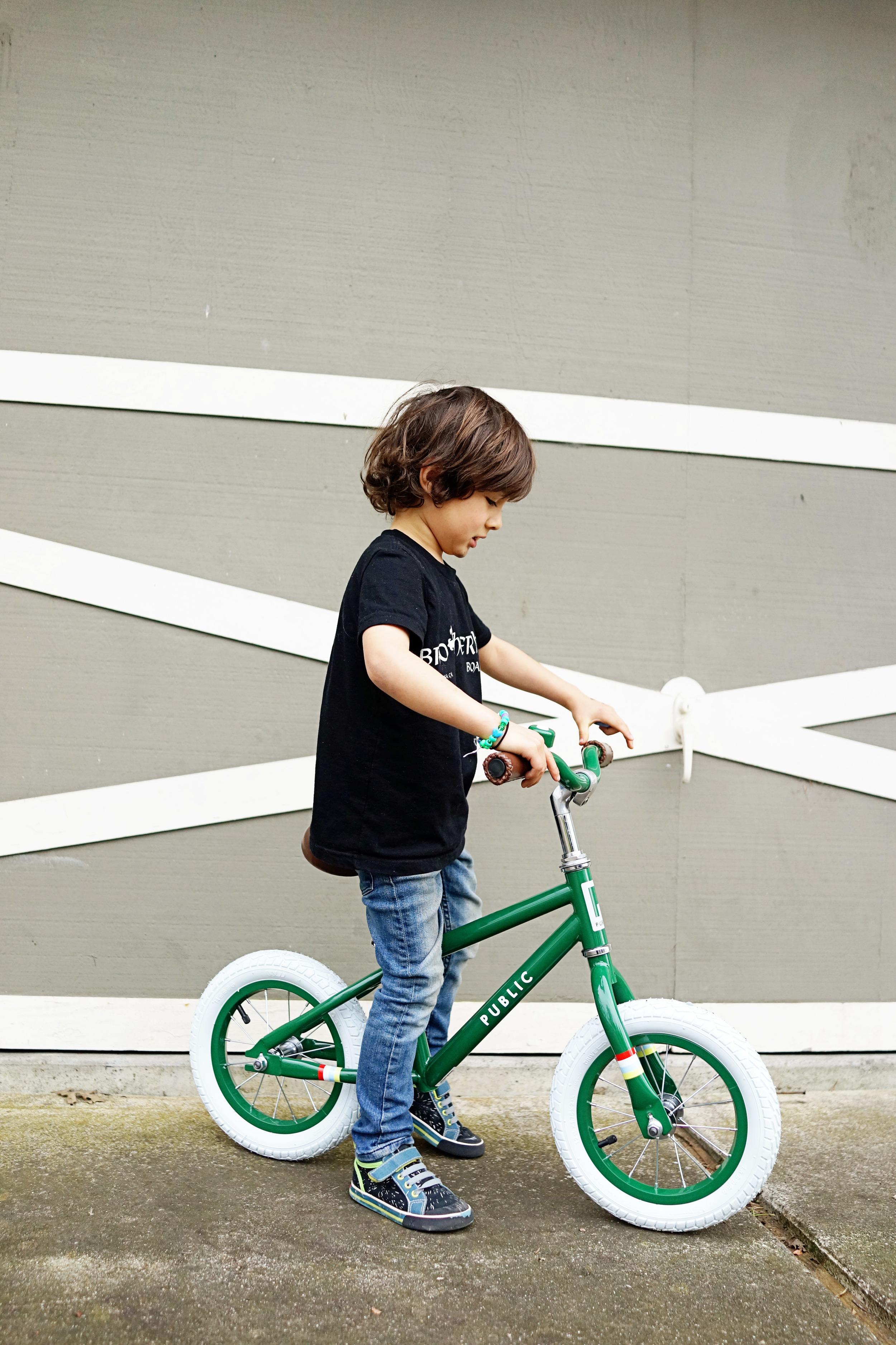 Favorites: Public Mini Kids Balance Bike / www.goodonpaperdesign.com/blog / @good_on_paper