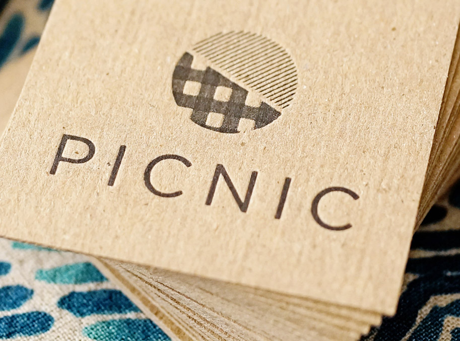 My Work: Picnic Logo Design + Branding  /  www.goodonpaperdesign.com/blog  /  @good_on_paper