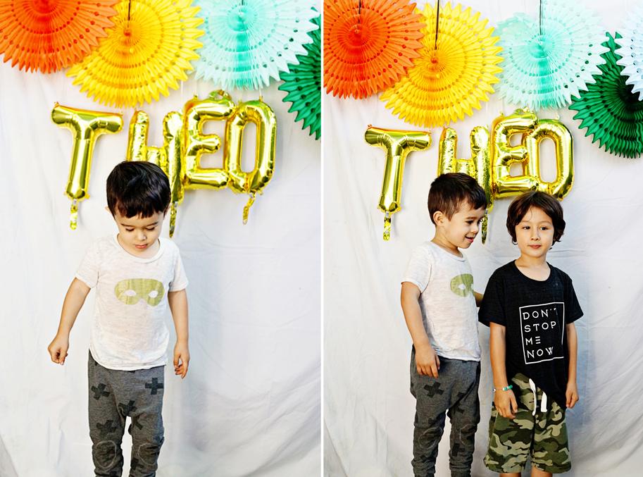 Theo's Music Themed 3rd Birthday Party  /  www.goodonpaperdesign.com/blog  /  @good_on_paper