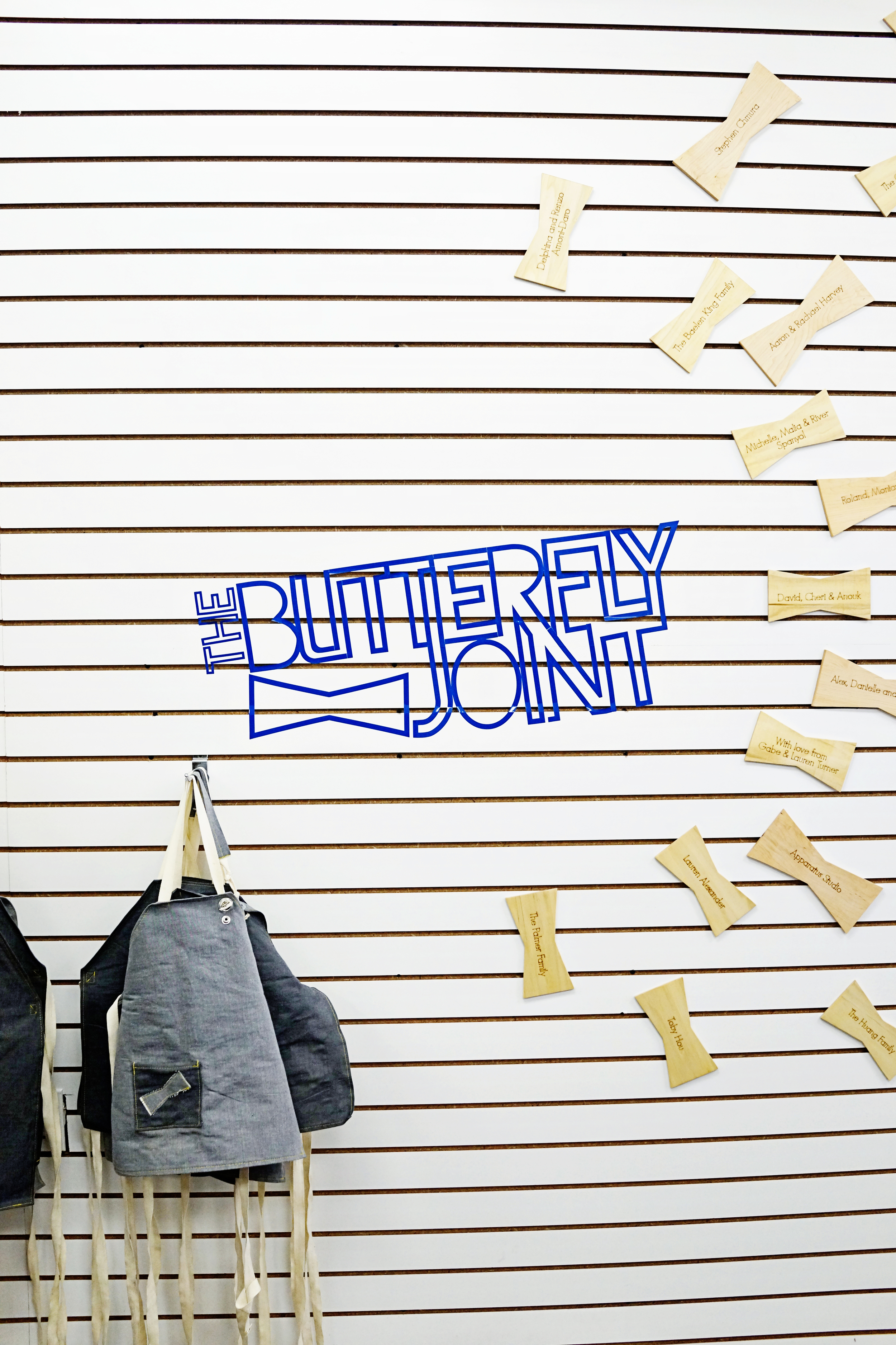 Favorites: The Butterfly Joint  /  www.goodonpaperdesign.com/blog  /  @good_on_paper