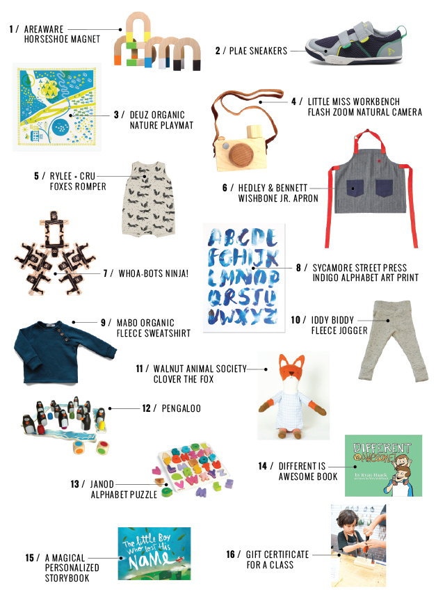 Holiday Gift Guide: For Babies and Kids  /  www.goodonpaperdesign.com/blog  /  @good_on_paper