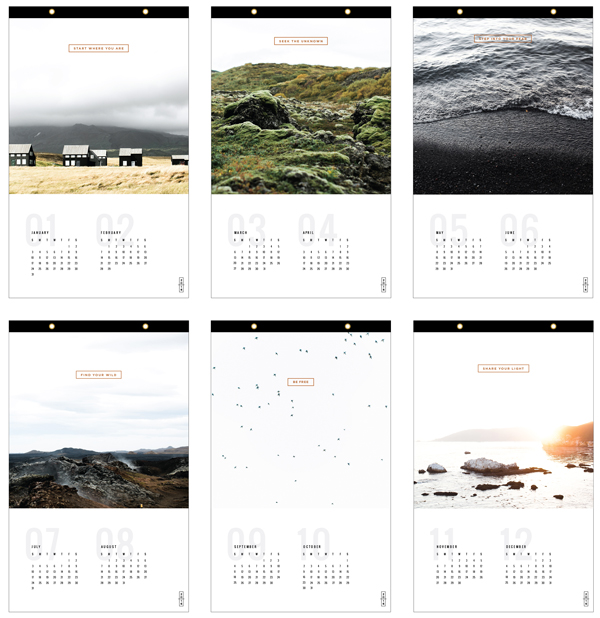 Free Shipping on our 2016 Calendars  /  goodonpaperdesign.com/shop  /  @good_on_paper