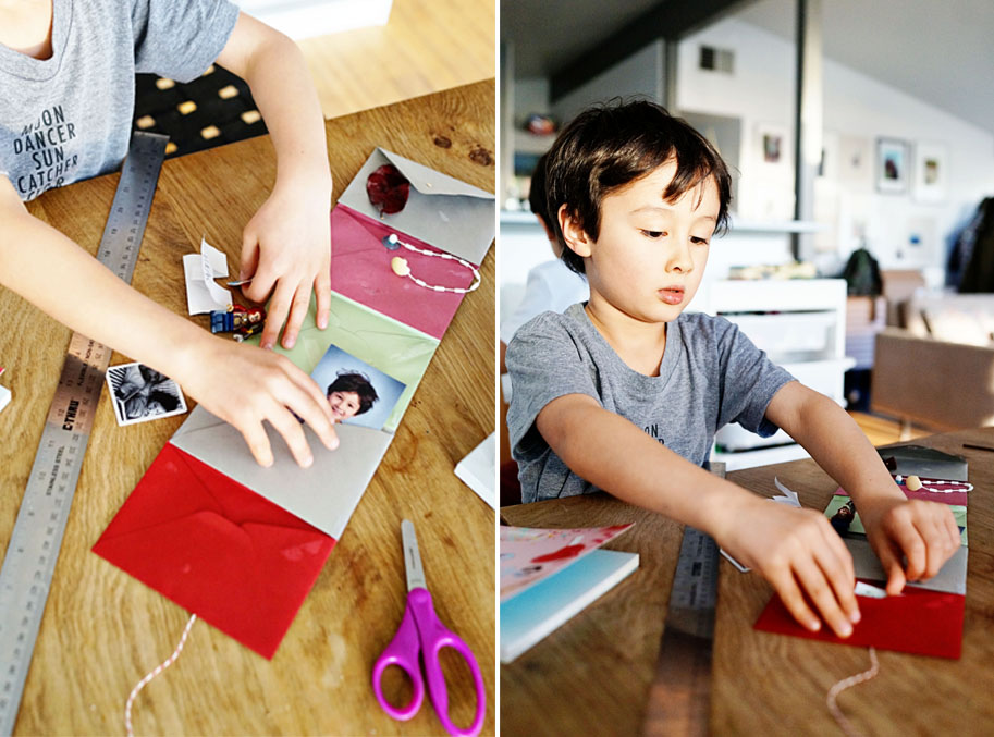 DIY Kids Project: Accordion Envelope Card  /  www.goodonpaperdesign.com/blog/2016/2/8/diy-kids-project-accordion-envelope-card  /  @good_on_paper #goodonpaperdesignblog #sallyjshimbemine #chroniclebooks