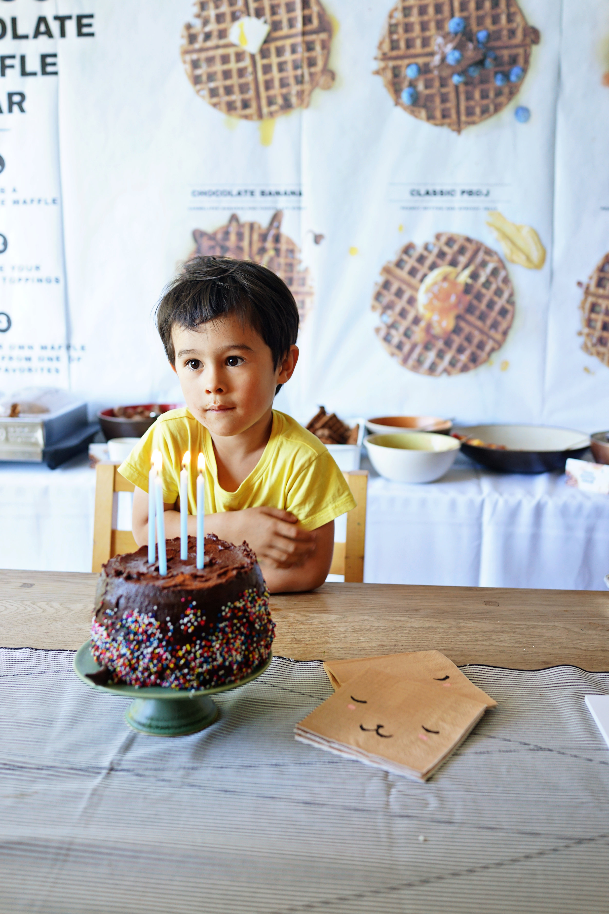 Theo's 4th Birthday Party  /  www.goodonpaperdesign.com/blog/2016/8/22/theos-4th-birthday-party  /  @good_on_paper