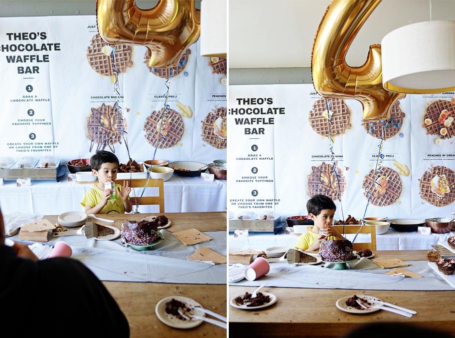 Theo's 4th Birthday Party  /  www.goodonpaperdesign.com/blog/2016/8/22/theos-4th-birthday-party  /  @good_on_paper