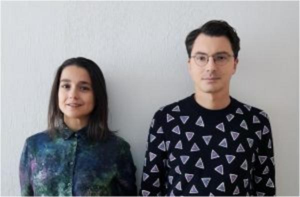 荷蘭新創公司「The New Raw」的兩位創辦人FoteiniSetaki & PanosSakkas。(圖片來源:The New Raw)